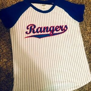 Victoria's Secret PINK Texas Rangers top